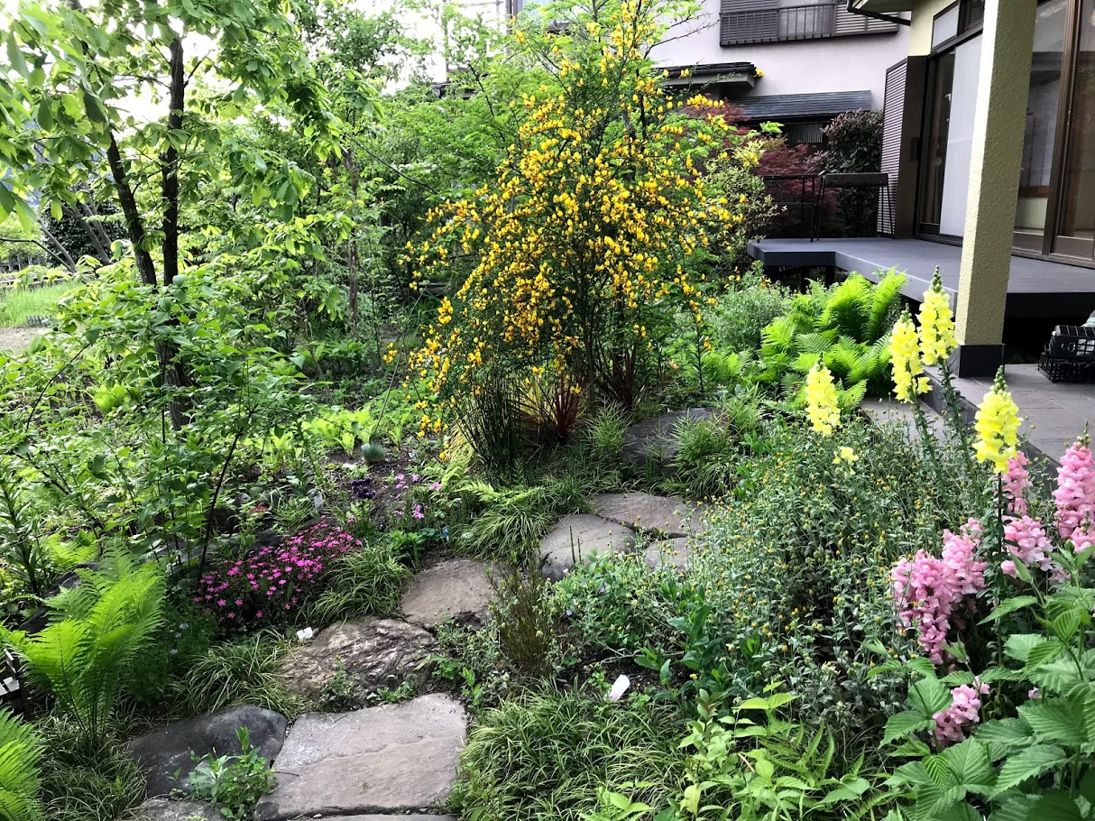 House Garden on May 9, 2019